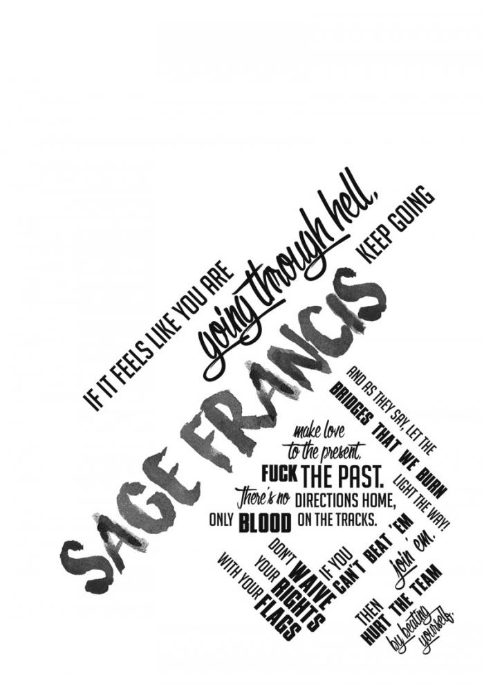 Sage-Typo-poster