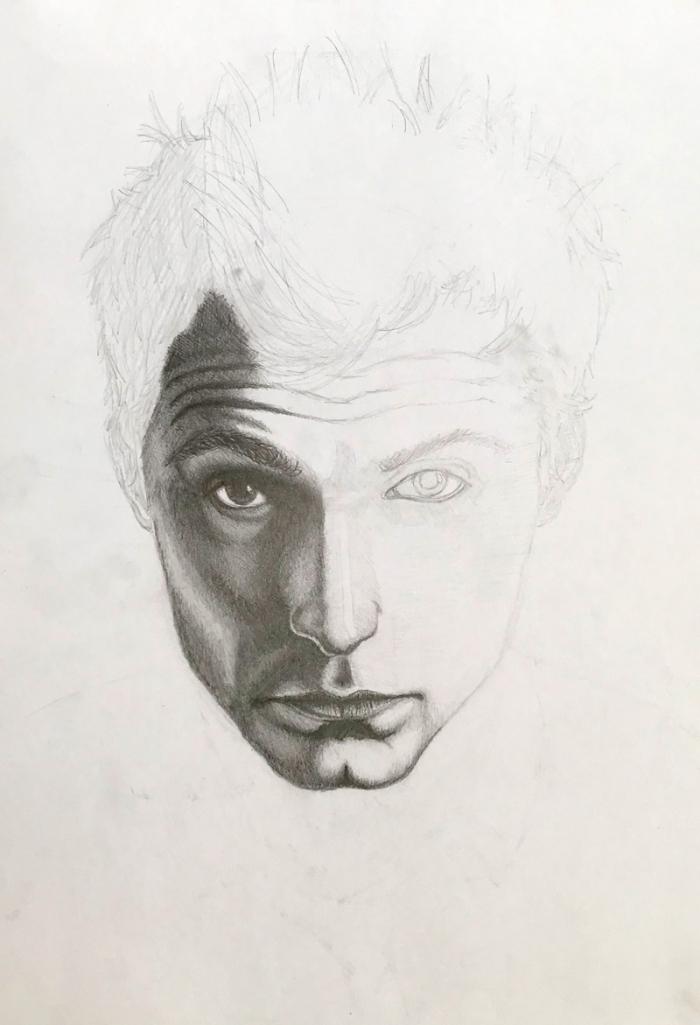portret-polovicny